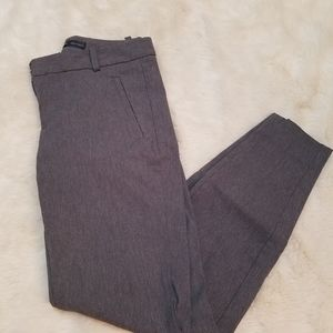 The limited gray skinny dress pants